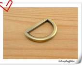 1 inch (inner diameter) anti brass alloying D-rings 10pcs thickness U11