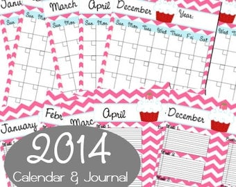 popular items for printable calendar on etsy