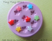 Tiny Star Fondant Silicone Mold Molds Red Star Fourth Of July Moulds
