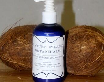 Caribbean Coconut Body Lotion.  Your Caribbean Vacation