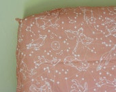 Constellation Crib Sheets, Changing Pad Covers, Indie Fabric Printed Just for You