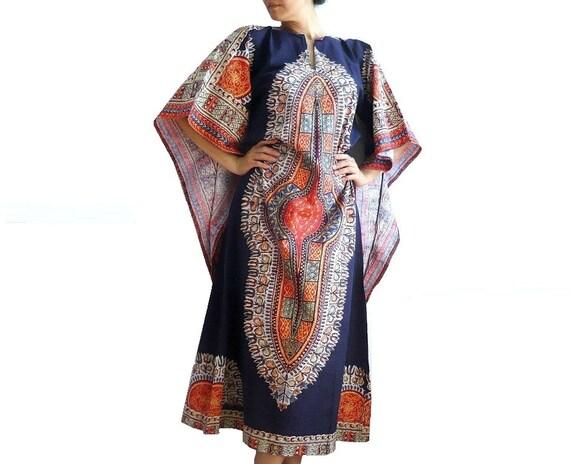 INDRA Vintage Batik Maxi Dress