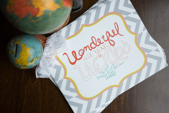 Wonderful Works - 8x10 print