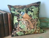 Song Bird Nest PILLOW COVER - 12 Inch