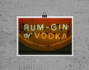 Rum Gin or Vodka- Put-In-Bay, OH -4 x 6 photograph