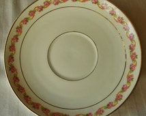 Porcelain Saucer Made in Austria  Plate  Hard to find REplacement for your tea Cup M Z Princess