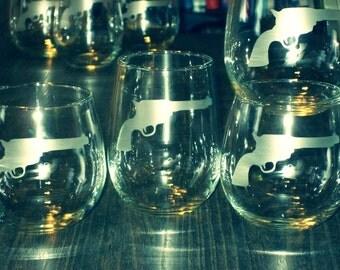 Killer Glassware Set - Set of 2