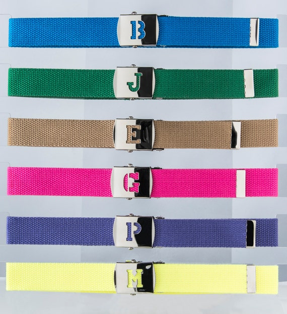 Personalized Initial belt