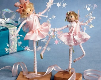 FAIRY - PIXIE PATTERN / Ornaments - Toys - Decorations / 14 Styles in Two Sizes