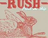 RUSH Printing and Shipping - PRIORITY Upgrade Service For Your Order