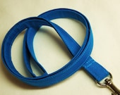 Cotton Fabric LANYARD, id Badge Holder, NECK Strap, teacher lanyard, security tag holder, ID badge, Key lanyard - Many color to choose from