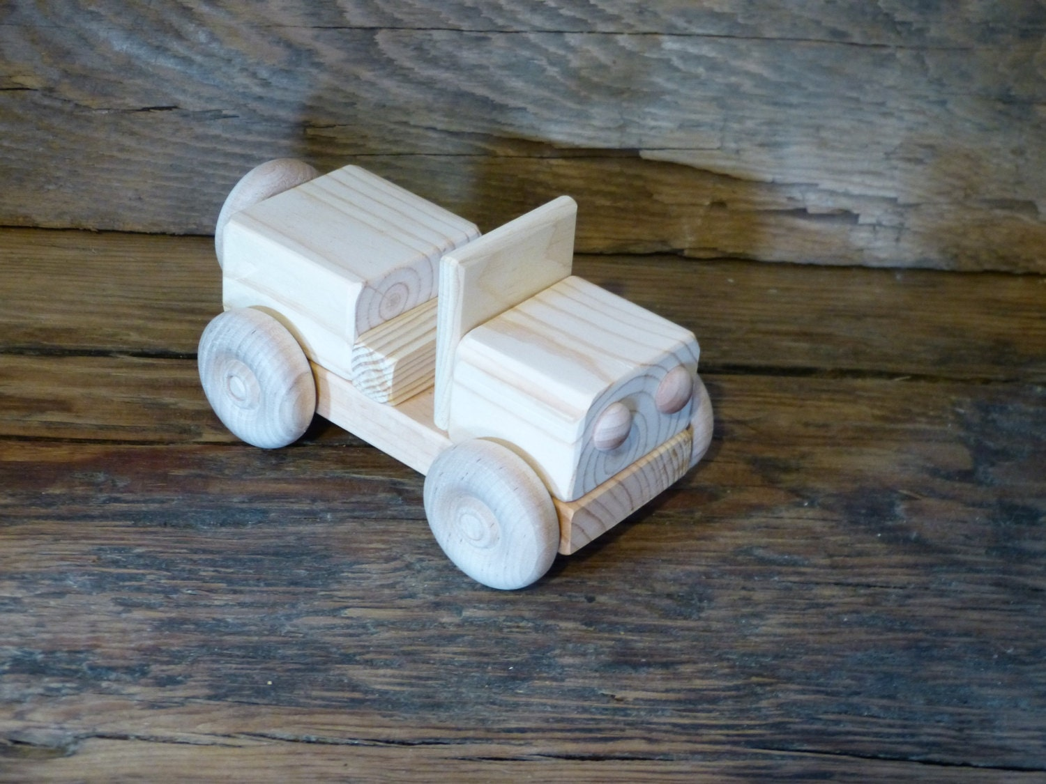 Handmade Wood Toy Jeep Truck Wooden Toys Hand By Outonalimbadk