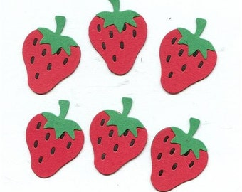 Lot of 6 Quickutz Strawberry Die Cuts