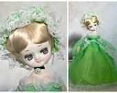 Big Eyed Doll - Made in Korea - 1970's Bradley Doll