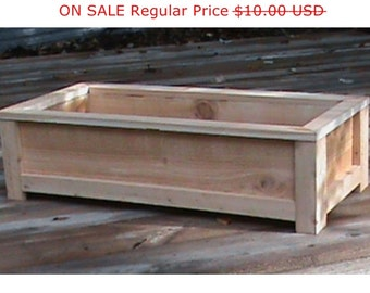 Cedar Planter Plans / Wood Working Plans / Outdoor Planters / Planter Box  Plans / Wooden