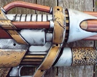 Steampunk Gun - 4 Barreled Vaporizer