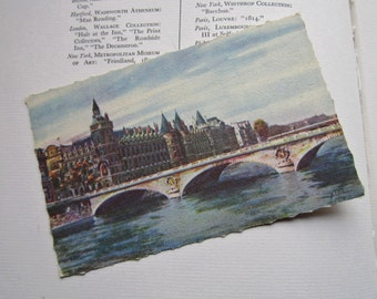 Vintage Postcard Paris  Yvon