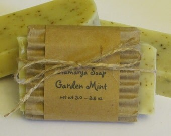 Garden Mint Cold Process Soap