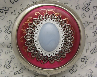 Compact Mirror Bridesmaids Gift Enchanting Comes With Protective Pouch