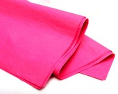"100 PERCENT RECYCLED tissue paper, hot pink -- 20 x 26"" -- bulk, 30 sheets"