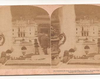 Ca. 1900 Set of 5 Stereoscope Cards. Around the World -- Germany, Japan, Switzerland, Greece, and Palestine