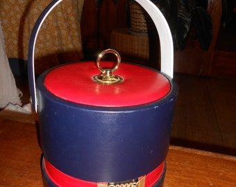 Vintage Nautical Georges Briard ice bucket