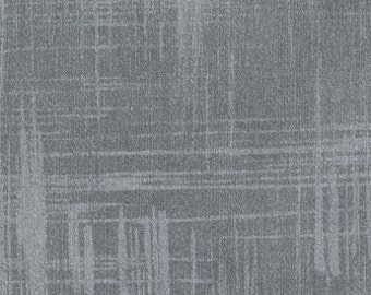 Painter's Canvas Gray Michael Miller Fabric 1 Yard