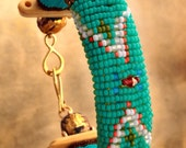Navajo- Tibetan Beaded Cuff