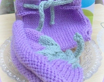 Hat and Diaper Cover   Pattern for  Infant  Knitted