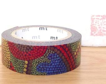 mt limited edition washi masking tape - Melbourne, Australia - traditional dot painting