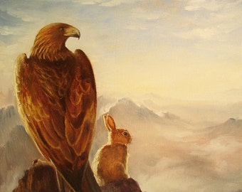 Isabella and the Eagle