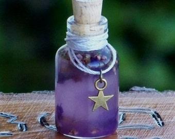 """STAR CHILD™ """"Artisan Alchemist""""™ """"Old European Witchcraft""""™ Master Crafted Herbal Gemstone Oil"""