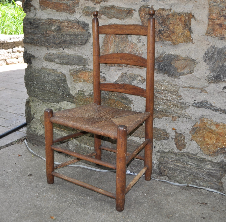 Genuine Vintage 1960s Shaker Chair Sabbath Day Lake Community In Maine Haute Juice