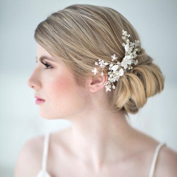 Beach Wedding Hairstyles: Bridal Hair Comb Beach Wedding Hair Accessory By