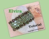 Elvira Silky Beads and SuperDuo Beadwork Bracelet PDF
