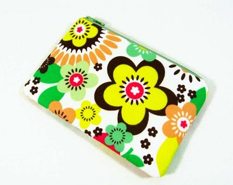 Sugar Blossom coin purse, credit card pouch