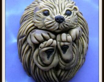 SEA OTTER SoAP - Ocean Marine Mammal Aquatic Weasel Animal Home Decor Gift - Unique - Cute - Detergent Free Glycerin - Handmade In USA -