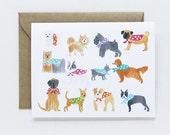 Any Occasion Card - Polka-Dot Dog