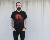 Nautilus on a Bicycle - American Apparel Men's Tee