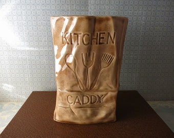 Brown Bag Kitchen Caddy