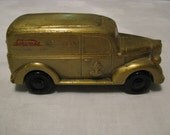Schwans Ice Cream 40th Anniversary Metal Bank Delivery Truck Marshall,MN