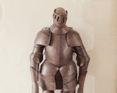 Knight in not so shinning armor, something fun, unique, home, silver, grey, rusted, patina, whimsical art, silly fun, fine art photograph