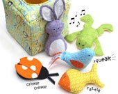 Discovery Box - a put and take toy - Sewing Pattern