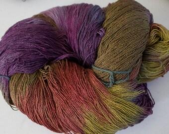 Stella: Silk Yarn 2-ply -  Deep Woods,  1350 yds