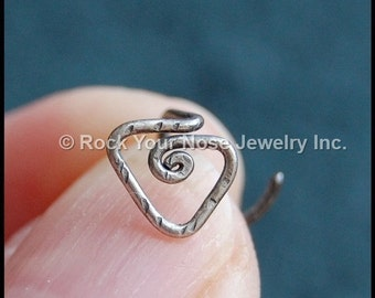 Sterling Tribal Nose Stud - CUSTOMIZE