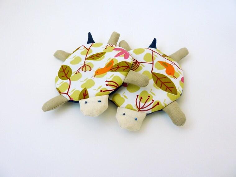 Cute Turtle Coaster Fabric Coaster Coasters By