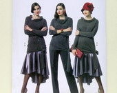 Ladies' Pullover Top, Skirt, and Slacks - Butterick 5858 - Out of Print Sewing Pattern, Sizes 6, 8, 10, 12, and 14