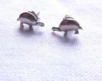 TURTLE //// Sterling Silver Earrings