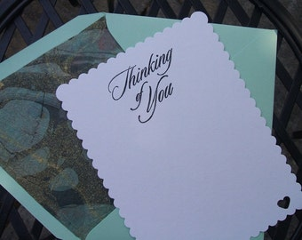Greeting Cards - Thinking Of You - (Set of 10)