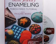 Basic Jewelry Enameling Torch Fired Tutorial By Pauline Warg  DVD SALE